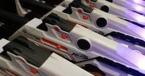NERF Laser arrives at Mega Blaster World